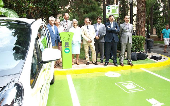 Punto de recarga coches electricos en Fuerte Marbella