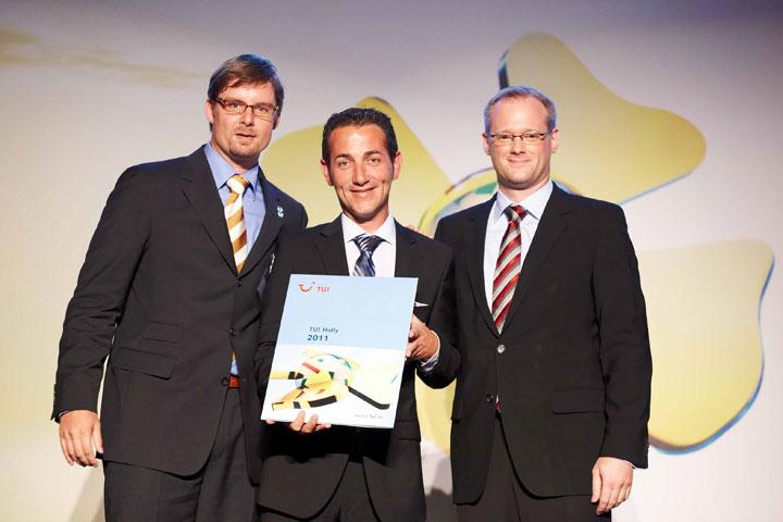 Basallote recibe el premio en Düsseldorf
