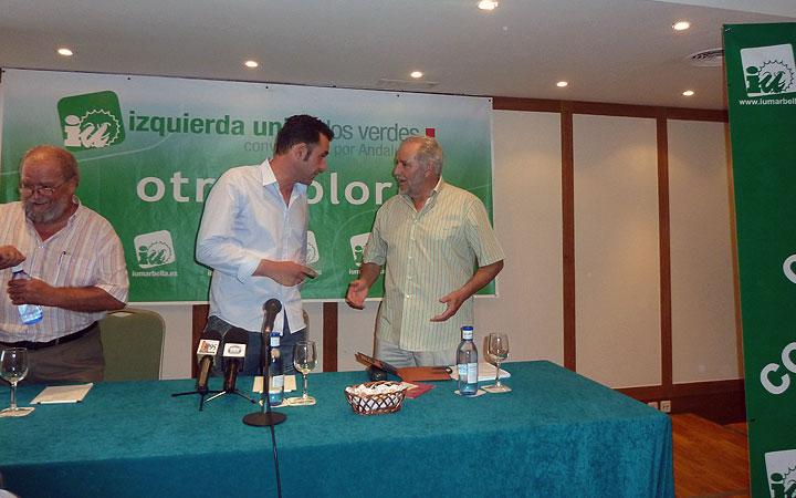 Julio Anguita en Fuerte Marbella