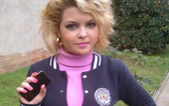 María Meler, la ganadora del reproductor Apple iPod Touch de Fuerte Hoteles