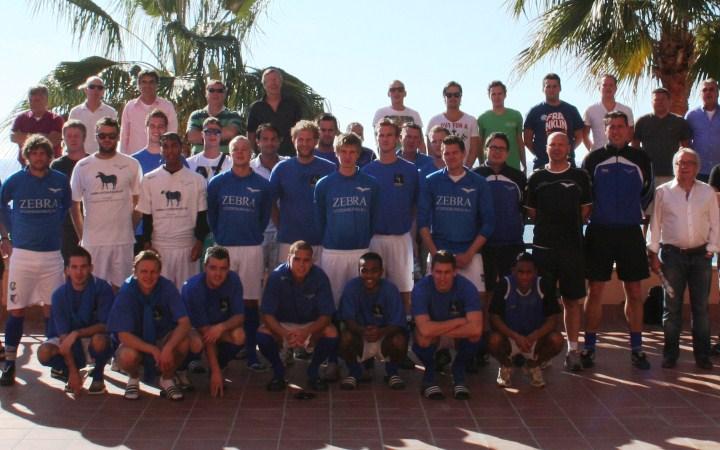 fútbol entre equipos holandeses y marbellíes