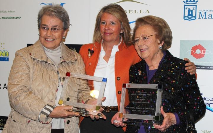 IIsabel María García Bardón, presidenta de Grupo El Fuerte, recibe un reconocimiento más a su trayectoria