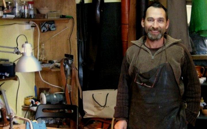 Fernando García, artesano.