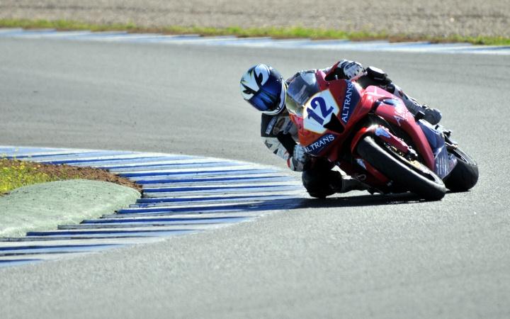 Rennstrecke von Jerez.