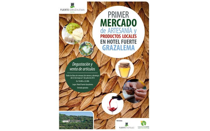 I Mercado de Artesanía y Productos Locales en hotel Fuerte Grazalema