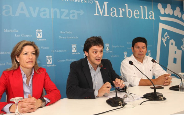 Presentation of Marbella 2012 Tour Experience in Marbella Town Hall.
