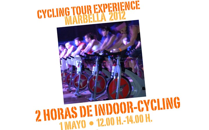 turismo saludable Cartel del Cycling Tour Experience Marbella 2012.