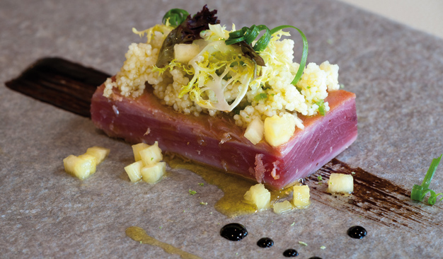 Bluefin Tuna, prepared at Fuerte Conil