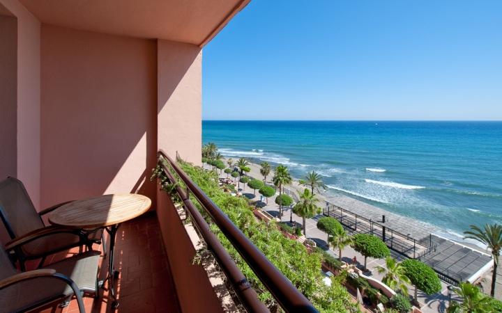 Vistas desde el hotel Fuerte Marbella.
