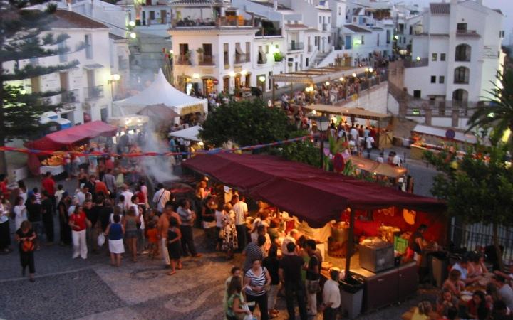 3 Kulturen Festival in Frigiliana