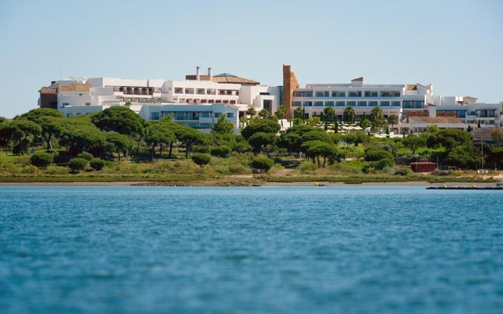 Marshland next to Hotel Fuerte El Rompido