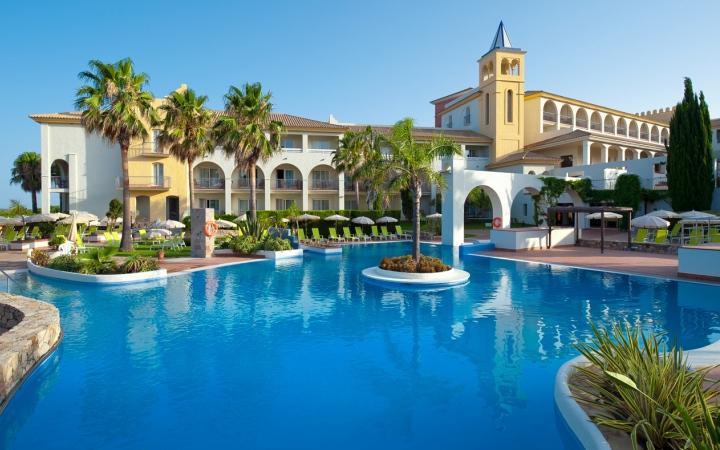 Ausblick hotel Fuerte Conil-Costa Luz