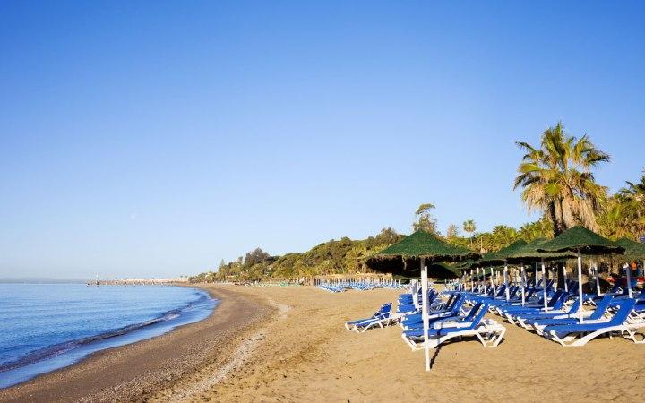 Un lujo de playa en la Costa del Sol