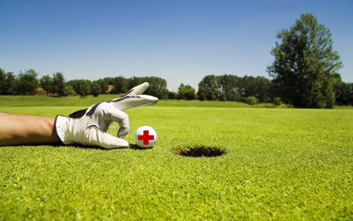 I Golf Circuit organized by Red Cross