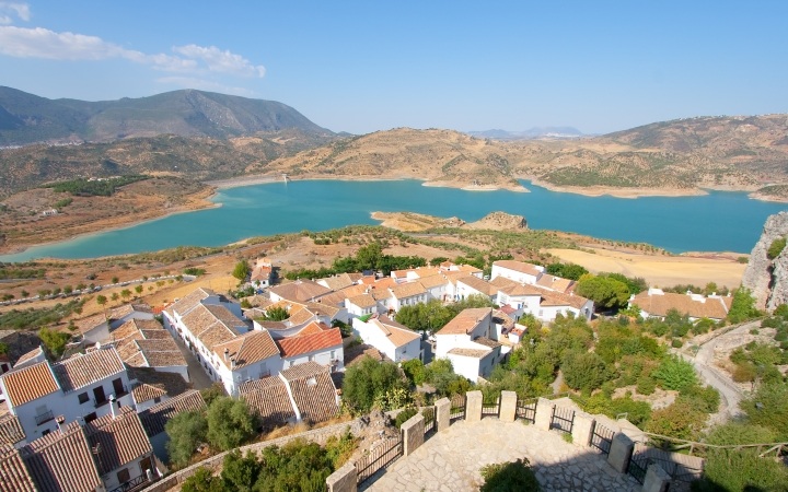 La Playita, located at the very heart of the Sierra de Grazalema
