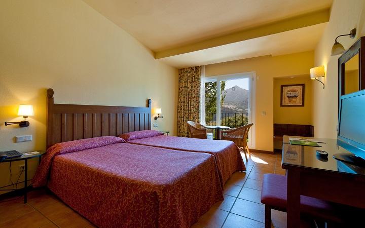 El fantástico hotel Fuerte Grazalema