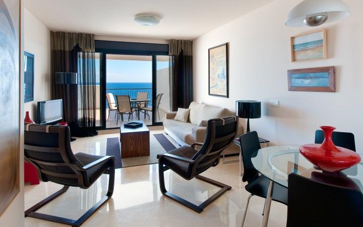 Los lujosos y confortables Apartamentos Fuerte Calaceite