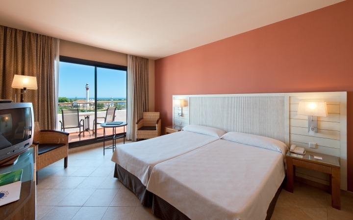 A fantastic room of Fuerte El Rompido Hotel