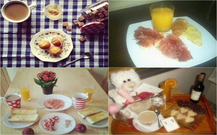 Algunos de los desayunos que han concursado