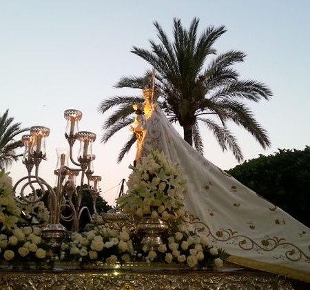 Virgen del Carmen, Marbella