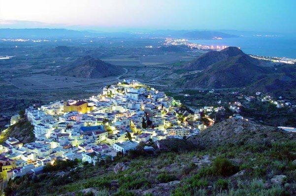 The most beautiful villages in Andalucia - Mojácar