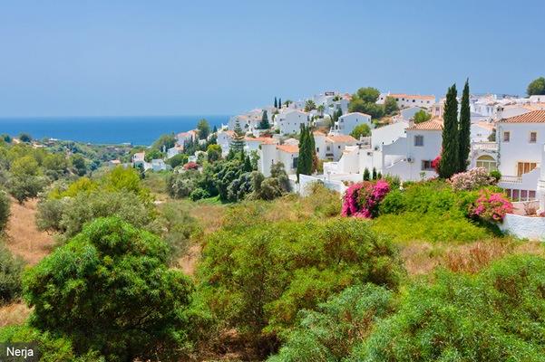 villages de l'Andalousie - Nerja