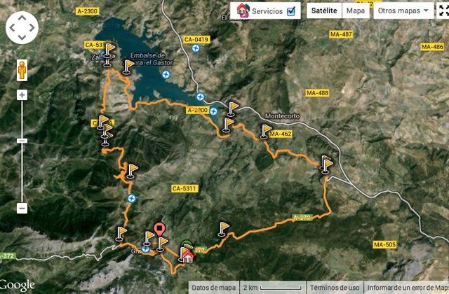 ciclismo de carretera Ruta Puerto de las Palomas