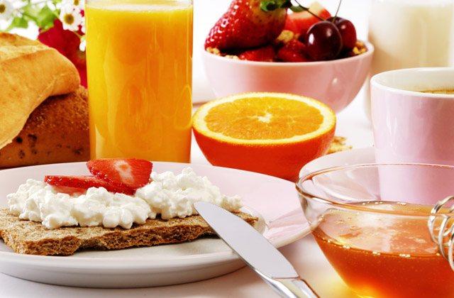 Desayuno y deporte