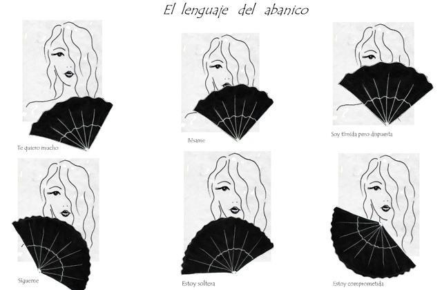 El lenguaje del abanico