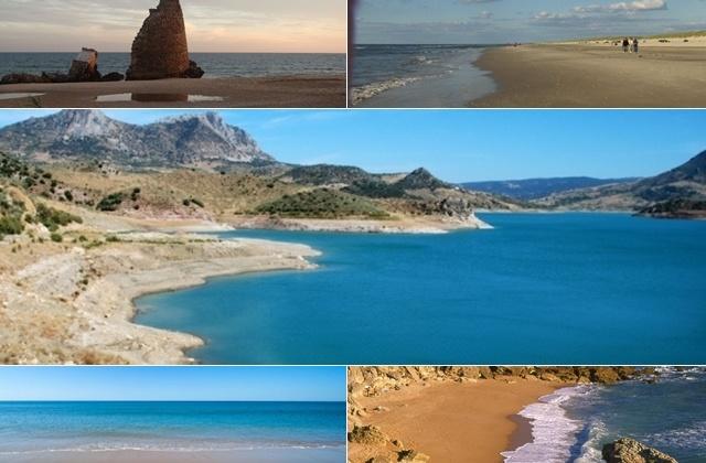montaje playas