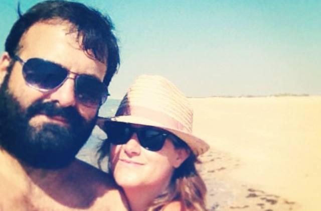 Víctor y Ana, ganadores de unas vacaciones en El Rompido