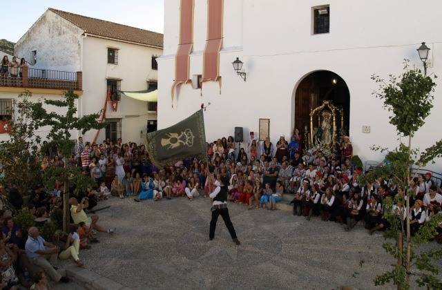 fiestas malagueñas - Fiesta de Moros y Cristianos, Alfarnate