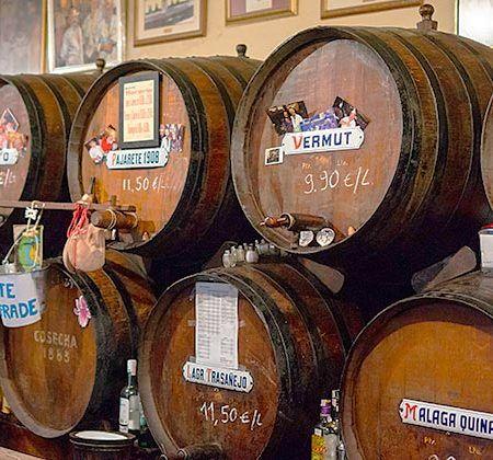 Bodegas de Málaga - Editorial credit: berni0004 / Shutterstock.com