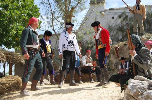 Historic recreation in Grazalema
