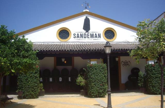Jerez wineries - Sanderman wineries
