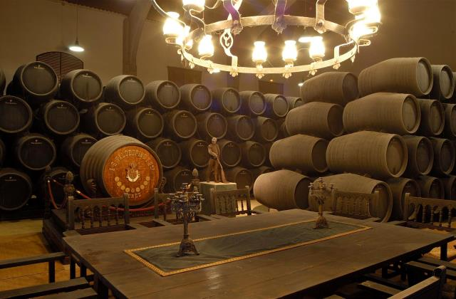 Jerez wineries - Real Tesoro y Valdespino wineries
