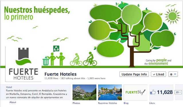 Fuerte Hotes fanpage
