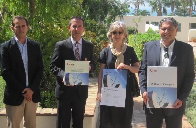 Entrega premio TUI Umwelt