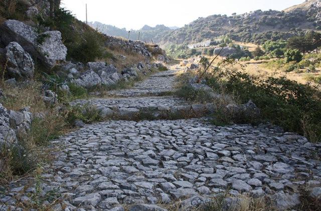 Roman road, Grazalema