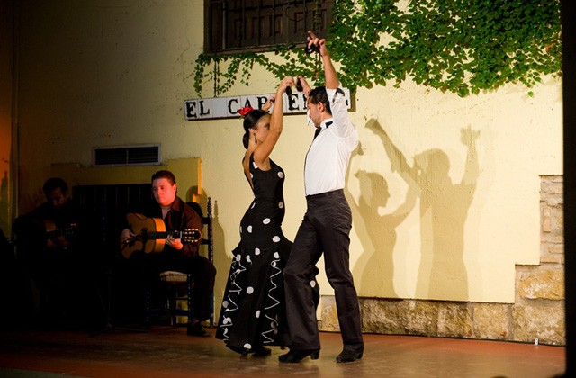 Wo man Flamenco in Andalusien sehen kann - Cordoba. Tablao flamenco El Cardenal.