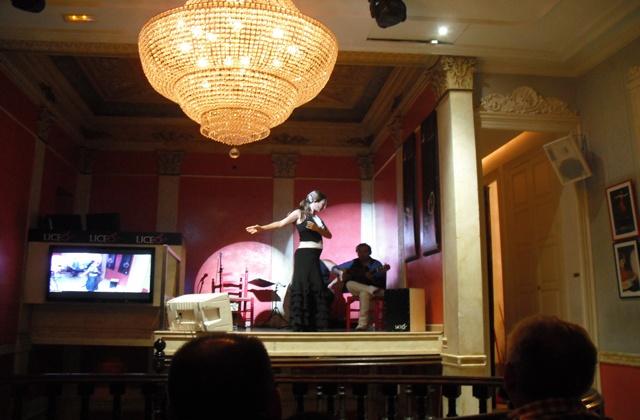 Wo man Flamenco in Andalusien sehen kann - Liceo Flamenco (Málaga)