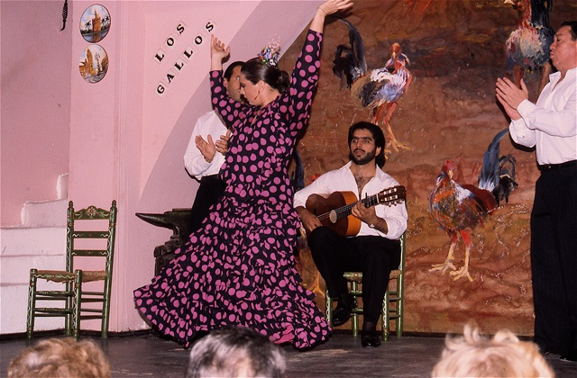 Wo man Flamenco in Andalusien sehen kann - Tablao 'Los Gallos' (Sevilla) 2