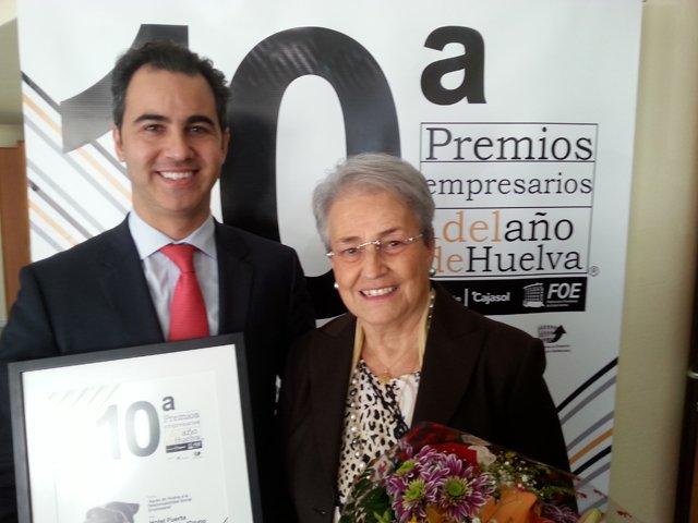 Tomeu Roig_director de Fuerte El Rompido junto a Isabel M García Bardón_presidenta de Grupo El Fuerte