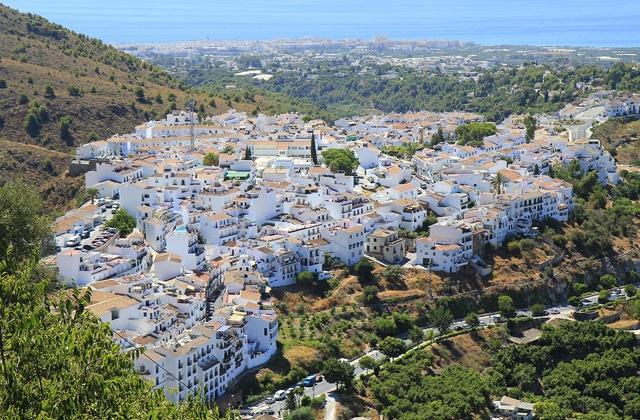 pueblos andaluces -  frigiliana