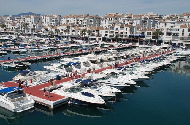 5 cosas que hacer en Marbella en invierno - Puerto Banús