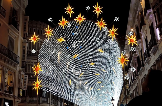 Christmas in Malaga -  Christmas lights