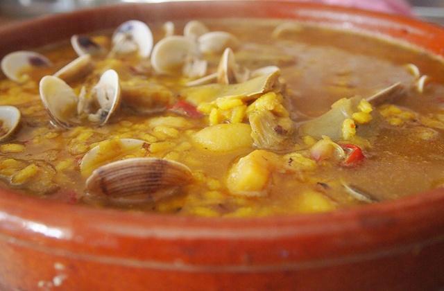 andalusische Rezepte - Arroz con caldo (Brühreis)