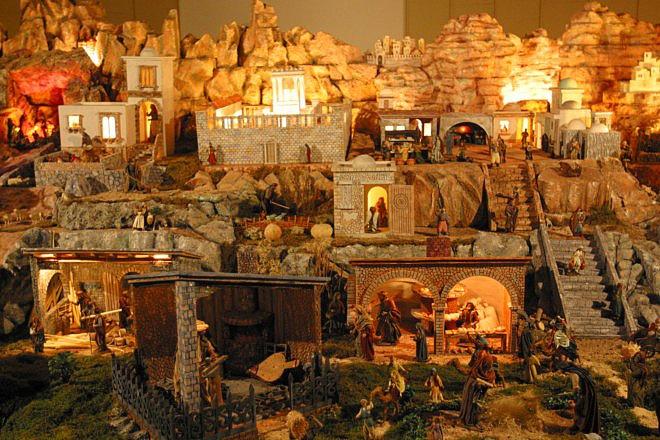 Plans originaux pour le Noël à Malaga - crèches