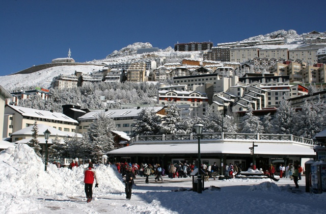 Sierra Nevada - esqui-estacion