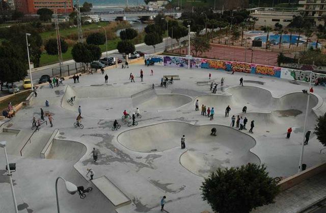 Parques temáticos - fuengirola-skatepark